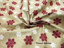 Textil - Bavlnená látka - ornament II - cena za 10 cm - 9165854_