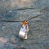 Prstene - Strieborný prsteň - Lej - 9167237_
