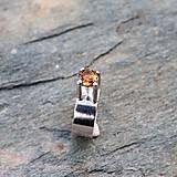 Prstene - Strieborný prsteň - Lej - 9167238_