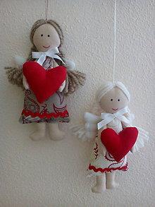 Dekorácie - mini anjelik pre šťastie 1 - 9165317_