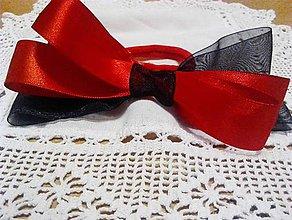 Ozdoby do vlasov - gumička na karneval - 9166858_