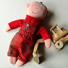 Hračky - BUDU BAGRISTOU !!! ... oblékací kluk - 9167942_
