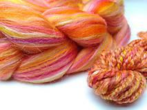 Textil - Zmes merino/ hodváb tussah - Váhy - 9163818_