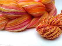 Textil - Zmes merino/ hodváb tussah - Váhy - 9163819_