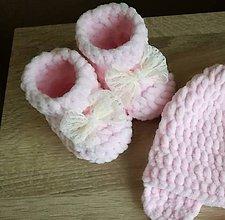 Topánočky - Papučky ružové - 9167105_
