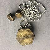 Betónový GOLDEN set HEXnuts 02