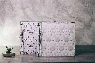 Papiernictvo - Fotoalbum klasický, polyetylénový obal s detskou potlačou (4 foto na stranu) - 9163595_