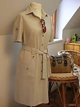 - Safari šaty pre pohodu ;) členené - 9165842_