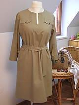 Šaty - Tunikové šaty pre pohodu ;) - 9166023_