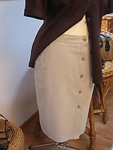 Sukne - Safari sukňa pre pohodu ;) - 9166250_