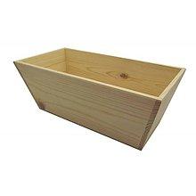 Polotovary - drevený obal obdĺžnik - 9164907_