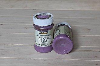 Farby-laky - Decor Paint Soft 100ml - černicová - 9165244_