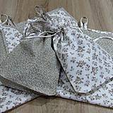 Úžitkový textil - Pomocníci v kuchyni(3) - vrecúška na bylinky 18x26 - 9166758_