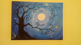 Obrazy - Carovny strom - 9167177_