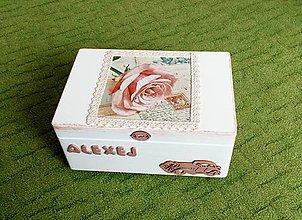 Detské doplnky - Krabica spomienok vintage - 9164413_