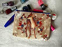 Taštičky - Taštička na mobil - bambi v borůvčí - 9165285_