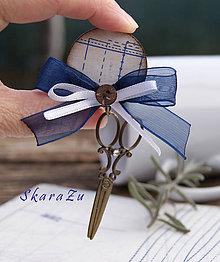 Odznaky/Brošne - Krajčírska brošňa - 9164228_