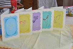Papiernictvo - Pohľadnica - motýľ - 9167464_
