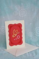 Papiernictvo - Pohľadnica - motýľ - 9167485_