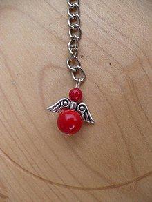 Iné šperky - prívesok na kľúče anjel z Koralu - 9163870_