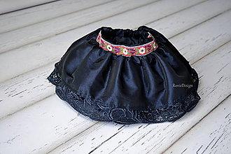Detské oblečenie - suknička taft/folk - 9168661_