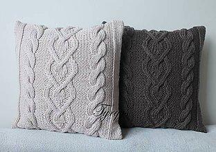 Úžitkový textil - Vankúš  (Béžová) - 9168981_