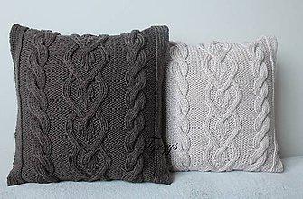 Úžitkový textil - Vankúš  (Hnedá) - 9169011_