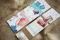 Papiernictvo - Záložky do knihy / recyklované - 9171850_
