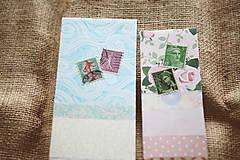 Papiernictvo - Záložky do knihy / recyklované - 9171881_