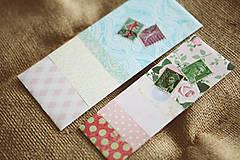 Papiernictvo - Záložky do knihy / recyklované - 9171882_