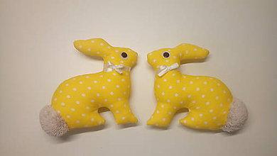 Dekorácie - Zajac (Žltá) - 9172401_