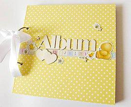 Papiernictvo - album na fotografie pre dievčatko - 9168543_