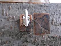 Šperky - mramorové manžetové gombíky - 9170379_
