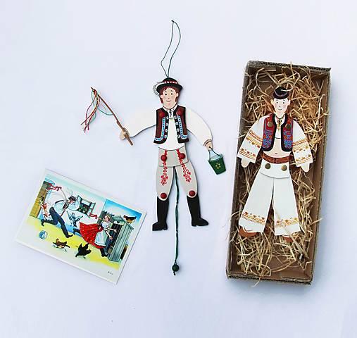 Pohyblivé hračky v slovenských krojoch - II