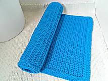 Úžitkový textil - Háčkovaný koberec TYRKYS bavlna - 9169716_