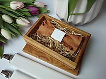 - Pánsky set - drevený motýlik a traky - 9168840_
