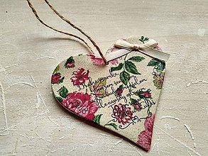 Darčeky pre svadobčanov - ďakovné srdcia pre rodičov - 9169851_