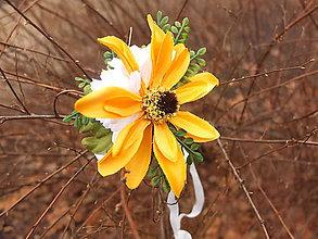 Náramky - sluneční květ - 9172774_