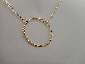 """Iné šperky - Prívesok """"filigránik"""" s retiazkou - 9170280_"""