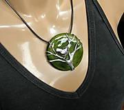 """Náhrdelníky - Cínový šperk s keramikou """"Čakanie na jar"""" - 9170395_"""