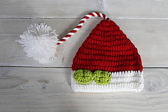 Detské čiapky - Mikulášska čiapka - 9169290_