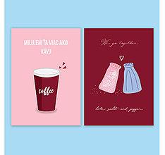 Papiernictvo - Korenie lásky print - 9172255_