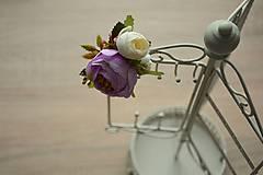 Odznaky/Brošne - Brošnička Lila - 9172208_