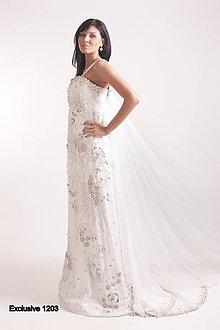 Šaty - Spoločenské šaty, Svadobné šaty - 9169552_