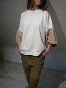 Tričká - --- tričko v RUKÁVE --- - 9168341_