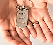 Kľúčenky - Kľúčenka pre manžela - 9169279_