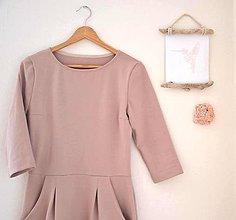Šaty - úpletové šaty .Lola - 9174264_