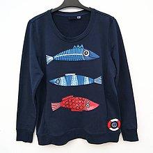 Mikiny - Dámská mikina Fish zone - 9175882_
