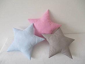 Textil - Vankúš hviezda - 9175669_