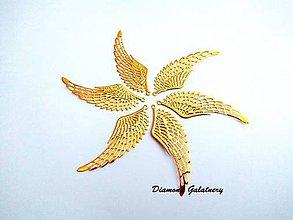 Komponenty - Filigrán Anjelské krídla - 9173404_